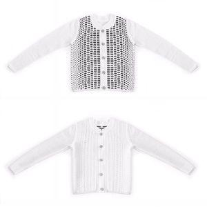 Emily Keller Sweaters - NWT Varsity Bomber Jacket Cardigan Merino Wool