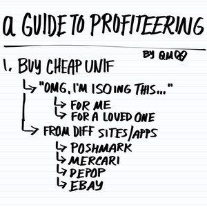 UNIF Other - {UNIF Profiteering}