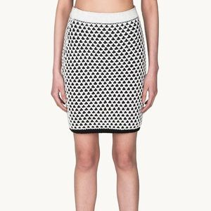 NWT Chunky Cotton Skirt Reversible Thick