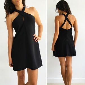 Zara Dresses & Skirts - Zara Black Cross Back Dress