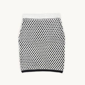 Emily Keller Dresses & Skirts - NWT Knit Pencil Skirt Cotton Chunky Reversible