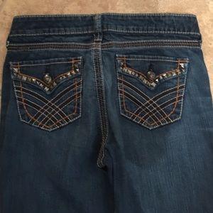 Ariat Turquoise Jeans sz 28R