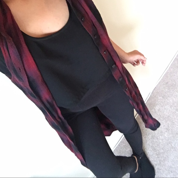 Urban Outfitters Tops - Urban Outfitters Sleeveless Flannel