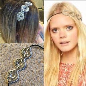 Nwt Anthropologie rhinestone embellished headband