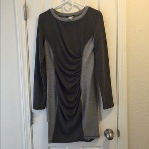 Tart Maternity Dresses & Skirts - Tart Pea in a Pod long sleeve gray knit dress