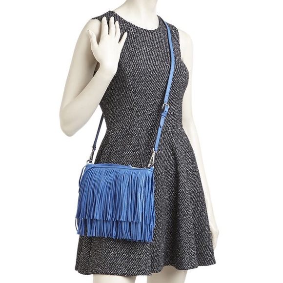 Rebecca Minkoff Bags Finn Crossbody Convertible Bag In Blue Poshmark