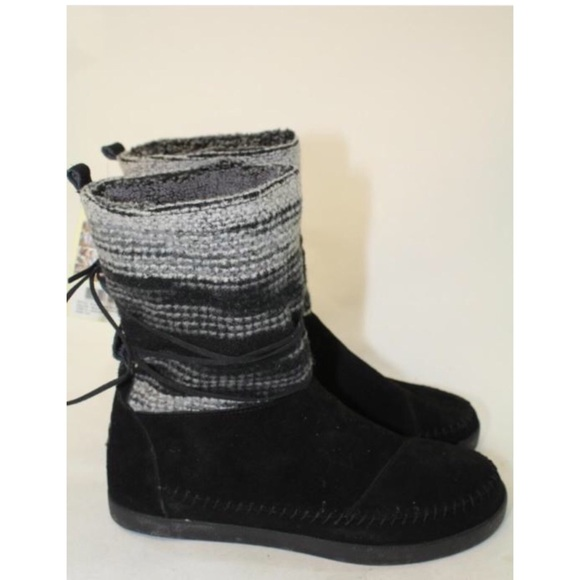 TOMS Shoes - Toms mismatch Nepal suede polyester mid calf boots