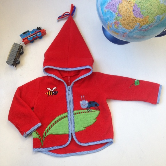 84% off Hanna Andersson Other - HANNA ANDERSSON Hooded Ladybug ...