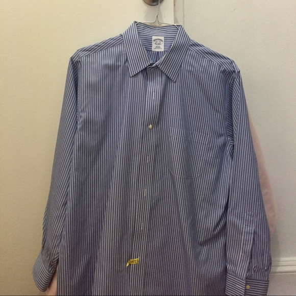 51 off brooks brothers other brooks brothers men 39 s slim for Brooks brothers dress shirt fit guide