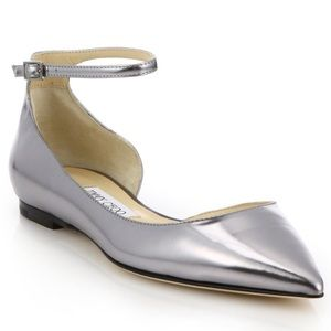 Jimmy Choo Shoes - Beautiful Jimmy Choo Lucy metallic flats!