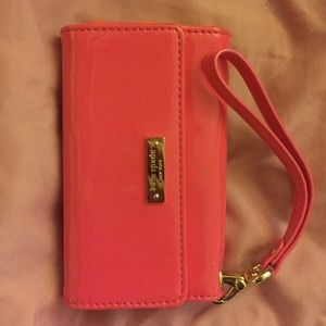 Kate spade iPhone5 cell phone folio,old phone case