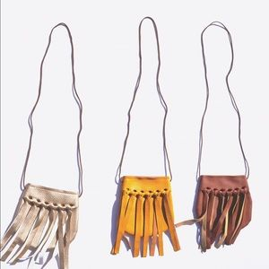 Other - Toddler Bali fringe purses
