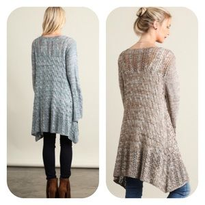 Sweaters - 🍃💕Elegant Tassel Tie Cable Knit Cardigan