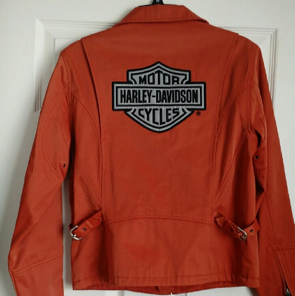 reputable site united states coupon code Harley-Davidson Jackets & Coats | Womens Harley Davidson Orange ...