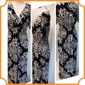 Dresses & Skirts - On Sale Blue and White Plus Size Maxi Dress