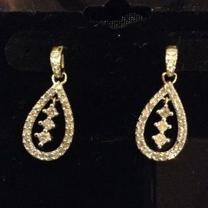 Jewelry - Diamond Earrings🌹Today Only🌺