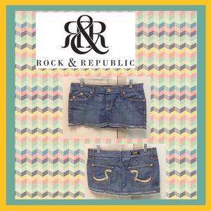 Rock & Republic Denim - 🎉HOST PICK 3/13🎉 Rock & Republic Mini Jean Skirt