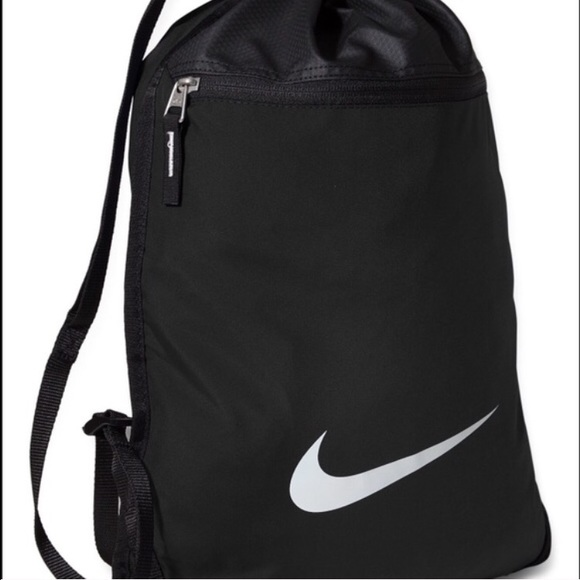 Nike - Black nike drawstring bag from Ber's closet on Poshmark
