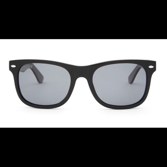 082204b830 DIFF Eyewear -Kota-Black Grey POLARIZED