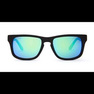 DIFF Eyewear Accessories - DIFF Eyewear - Riley - Black/Blue POLARIZED