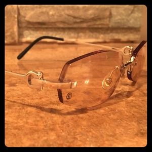 c2480b356e72 Cartier Accessories - Cartier 135 rimless sunglasses