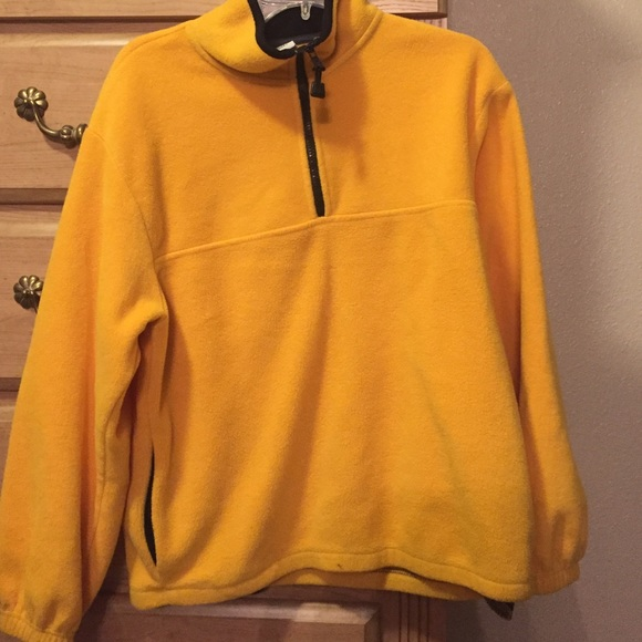 Patagonia - Yellow half zip pullover from Kara's closet on Poshmark