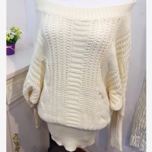Moonlight Dress Knitting Pattern : Moonlight Sexy Slouchy sweater from ! ??25% off for bundle janes closet ...