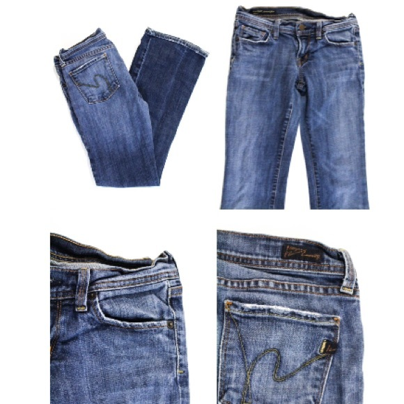 Citizens of Humanity Denim - CITIZENS OF HUMANITY  DISTRESSED JEANS SIZE 26