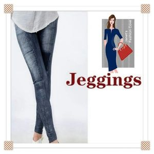 Pants - NEW ARRIVAL- Jeans-look Leggings