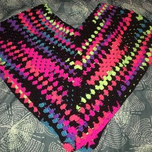 Sweaters - Lovely Multicolored Poncho