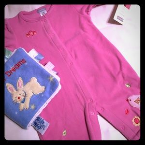 Carter's Other - NWT Carter's Baby Girl's Fleece 1-Pc Sz 6M🐰