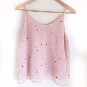 Pink Polka Dot Chelsea28 Crop Top
