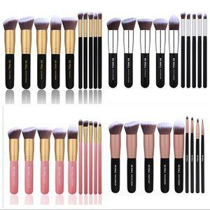 10 piece set of professional make up brushes