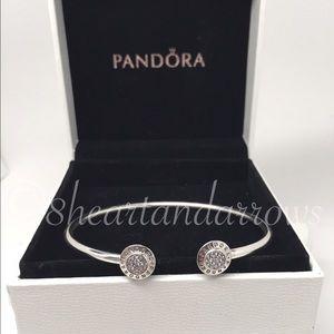 Pandora Jewelry - Pandora Signature cz bangle ...pick your size