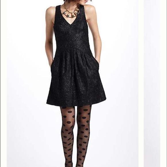 e415c4d2384fb Anthropologie Dresses & Skirts - Leifsdottir Black dress Lingonberry lace  Floral 4