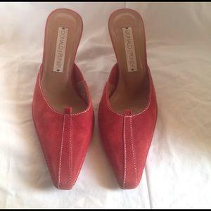 Donald J. Pliner Shoes - FINAL PRICE💄Donald J Pliner suede mules size 8.5
