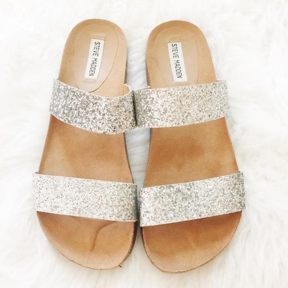 4140ada9b9dae Steve Madden Glitter Sandals. M_57ef5e8e713fde322f065f57