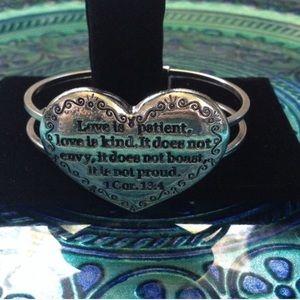 CLOSET CLOSING: 1st Corinthians Bracelet