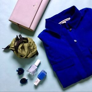 Brooklyn Industries Dresses & Skirts - Blue Silky Shirtdress