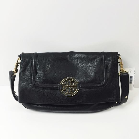 Tory Burch Bags Amanda Foldover Crossbody Bag New 435