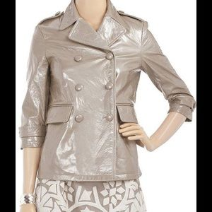 Gryphon Jackets & Blazers - Gryphon patent leather pea coat size m