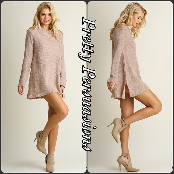 49% off Pretty Persuasions Sweaters - LAST ONE‼️Blush Mauve Cozy ...