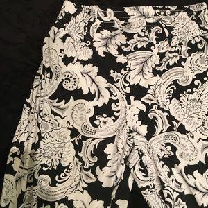 Carmen Marc Valvo Pants - Comfortable lightweight floral pants