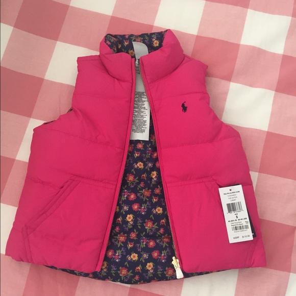 Jacketsamp; Down Lauren 5 Girls Ralph CoatsReversible Vest Poshmark 7vbIf6gymY