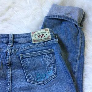 YMI Denim - {YMI} - cropped and cuffed jean