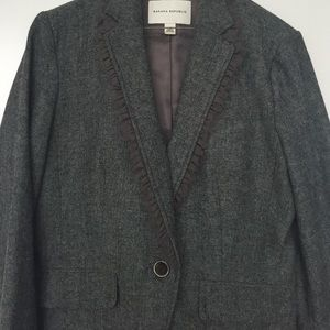 Banana Republic Herringbone Blazer