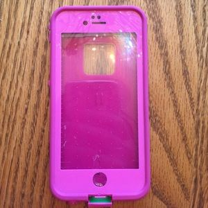 LifeProof Accessories - Pink life proof iPhone 6 case