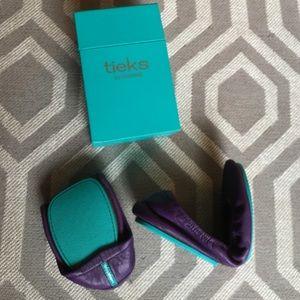 Tieks Shoes - Purple Tieks by Gavrielli - Size 7