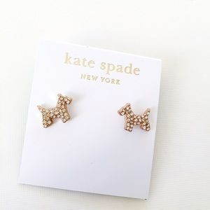kate spade Jewelry - ❗ALMOST GONE❗new Kate Spade puppy stud earrings