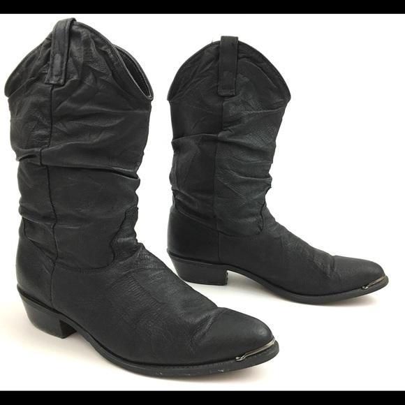 b9221a3a864 Dingo Slouch Leather Mens Cowboy Boots